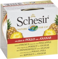 Фото - Корм для кошек Schesir Adult Canned Chicken/Pineapple 0.075 kg