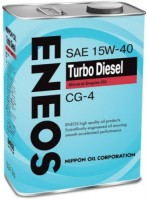 Моторное масло Eneos Turbo Diesel 15W-40 CG-4 4L