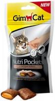Фото - Корм для кошек Gimpet Adult Nutri Pockets Poultry/Biotin 0.06 kg