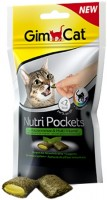 Фото - Корм для кошек Gimpet Adult Nutri Pockets Catnip/Multi-Vitamin 0.06 kg