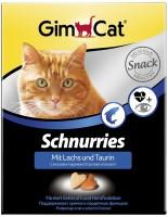 Фото - Корм для кошек Gimpet Adult Schnurries Salmon/Taurin 650