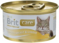 Фото - Корм для кошек Brit Care Adult Canned Chicken Breast/Cheese 0.08 kg