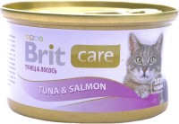 Фото - Корм для кошек Brit Care Adult Canned Tuna/Salmon 0.08 kg