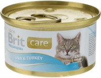 Фото - Корм для кошек Brit Care Adult Canned Tuna/Turkey 0.08 kg