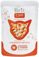 Фото - Корм для кошек Brit Care Adult Pouch Chicken/Cheese 0.08 kg