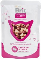 Фото - Корм для кошек Brit Care Adult Pouch Chicken/Duck 0.08 kg