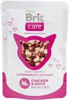 Корм для кошек Brit Care Adult Pouch Chicken/Duck 0.08 kg