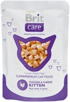 Фото - Корм для кошек Brit Care Kitten Pouch Chicken/Cheese 0.08 kg