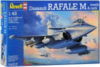 Фото - Сборная модель Revell Dassault Rafale M and Bomb Rack (1:48)