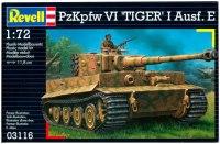 Фото - Сборная модель Revell PzKpfw VI Tiger I Ausf. E (1:72)