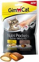 Фото - Корм для кошек Gimpet Adult Nutri Pockets Taurine-Beauty Mix 0.15 kg