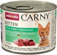 Фото - Корм для кошек Animonda Kitten Carny Chicken/Rabbit 0.2 kg