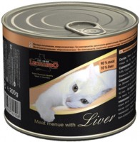 Корм для кошек Leonardo Adult Canned with Liver 0.2 kg