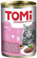 Фото - Корм для кошек TOMi Adult Canned Veal 0.4 kg