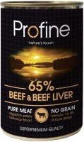 Корм для собак Profine Adult Canned Beef/Liver 0.4 kg