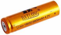 Аккумуляторная батарейка Bailong 1x18650 6800 mAh