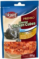 Фото - Корм для кошек Trixie Premio Cheese/Chicken Cubes 0.05 kg