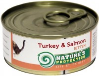 Фото - Корм для кошек Natures Protection Kitten Canned Turkey/Salmon 0.1 kg
