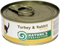 Фото - Корм для кошек Natures Protection Kitten Canned Turkey/Rabbit 0.1 kg