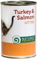Фото - Корм для кошек Natures Protection Kitten Canned Turkey/Salmon 0.4 kg