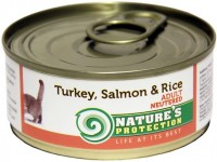 Фото - Корм для кошек Natures Protection Neutered Canned Turkey/Salmon/Rice 0.1 kg