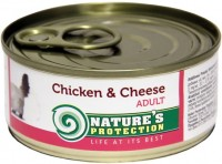 Фото - Корм для кошек Natures Protection Adult Canned Chicken/Cheese 0.1 kg
