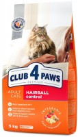 Корм для кошек Club 4 Paws Hairball Control 11 kg