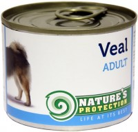 Корм для собак Natures Protection Adult Canned Veal 0.2 kg