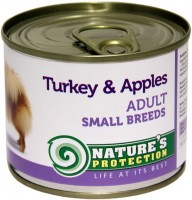 Фото - Корм для собак Natures Protection Adult Canned Small Breeds Turkey/Apples 0.2 kg