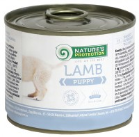 Фото - Корм для собак Natures Protection Puppy Canned Lamb 0.2 kg