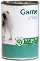 Фото - Корм для собак Natures Protection Adult Canned Game 0.4 kg