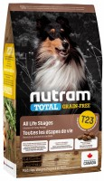 Корм для собак Nutram T23 Total Grain-Free Turkey/Chicken/Duck 2.72 kg