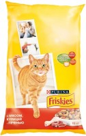 Фото - Корм для кошек Friskies Adult Meat/Chicken/Liver 10 kg