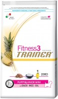 Корм для собак Trainer Fitness3 Puppy and Junior Mini Duck/Rice/Oil 2 kg