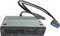 Картридер/USB-хаб STLab U-405