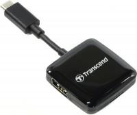 Фото - Картридер/USB-хаб Transcend TS-RDC2K