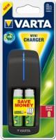 Фото - Зарядка аккумуляторных батареек Varta Mini Charger + 2xAA 2400 mAh