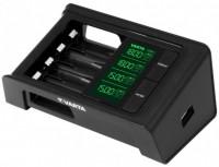 Зарядка аккумуляторных батареек Varta LCD Smart Charger + 4xAA 2100 mAh