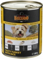 Корм для собак Bewital Belcando Adult Canned Turkey/Rice 0.8 kg