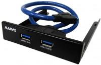Картридер/USB-хаб Maiwo KC010