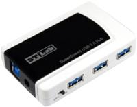 Картридер/USB-хаб STLab U-870