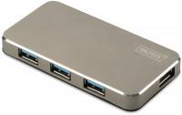 Картридер/USB-хаб Digitus DA-70240