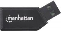 Картридер/USB-хаб MANHATTAN Hi-Speed USB Mobile 24-in-1