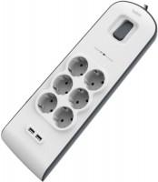 Фото - Сетевой фильтр / удлинитель Belkin Surgemaster 6-fold USB