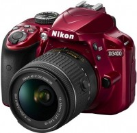 Фотоаппарат Nikon D3400 kit 18-55 + 70-300