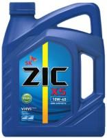 Моторное масло ZIC X5 10W-40 Diesel 6L