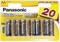 Фото - Аккумуляторная батарейка Panasonic Power 20xAA