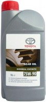 Трансмиссионное масло Toyota Gear Oil Universal Synthetic 75W-90 1L