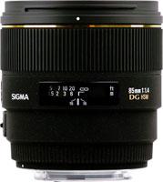 Фото - Объектив Sigma AF 85mm F1.4 EX DG HSM