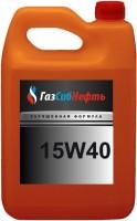 Моторное масло Gazsibneft Mineral 15W-40 5L